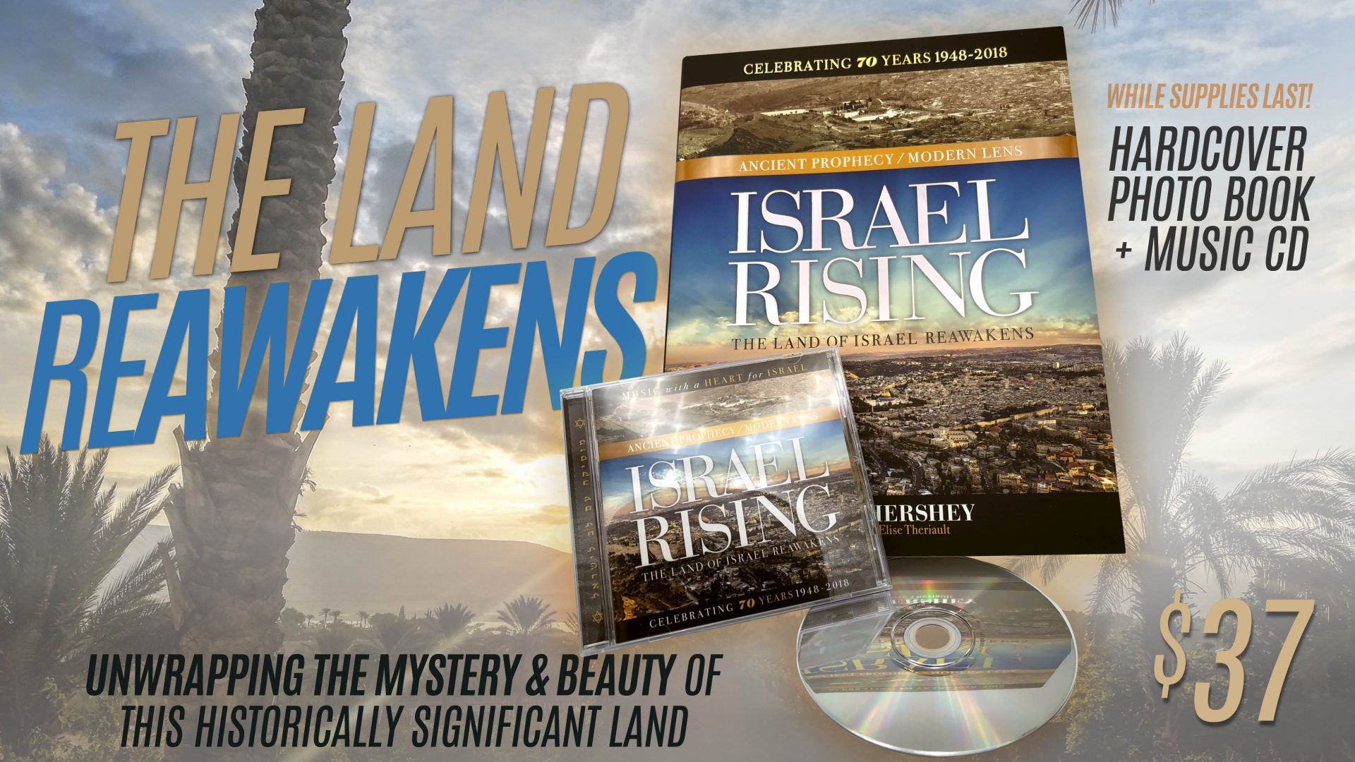 *Special* Israel Rising – Book+Music